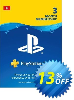 PlayStation Plus (PS+) - 3 Month Subscription (Switzerland) discount coupon PlayStation Plus (PS+) - 3 Month Subscription (Switzerland) Deal - PlayStation Plus (PS+) - 3 Month Subscription (Switzerland) Exclusive offer for iVoicesoft