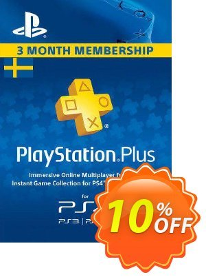 Playstation Plus - 3 Month Subscription (Sweden) discount coupon Playstation Plus - 3 Month Subscription (Sweden) Deal - Playstation Plus - 3 Month Subscription (Sweden) Exclusive offer for iVoicesoft