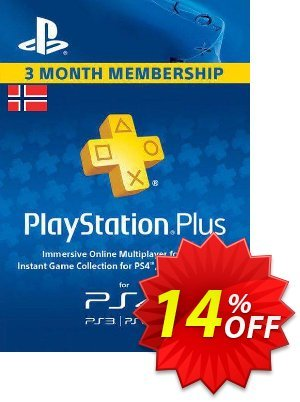 Playstation Plus - 3 Month Subscription (Norway) discount coupon Playstation Plus - 3 Month Subscription (Norway) Deal - Playstation Plus - 3 Month Subscription (Norway) Exclusive offer for iVoicesoft