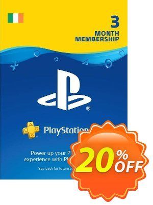 PlayStation Plus - 3 Month Subscription (Ireland) 프로모션 코드 PlayStation Plus - 3 Month Subscription (Ireland) Deal 프로모션: PlayStation Plus - 3 Month Subscription (Ireland) Exclusive offer for iVoicesoft