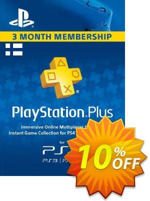 Playstation Plus - 3 Month Subscription (Finland) 프로모션 코드 Playstation Plus - 3 Month Subscription (Finland) Deal 프로모션: Playstation Plus - 3 Month Subscription (Finland) Exclusive offer for iVoicesoft