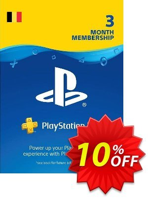 Playstation Plus (PS+) - 3 Month Subscription (Belgium) discount coupon Playstation Plus (PS+) - 3 Month Subscription (Belgium) Deal - Playstation Plus (PS+) - 3 Month Subscription (Belgium) Exclusive offer for iVoicesoft