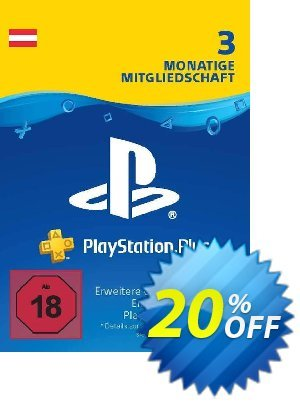 PlayStation Plus (PS+) - 3 Month Subscription (Austria) discount coupon PlayStation Plus (PS+) - 3 Month Subscription (Austria) Deal - PlayStation Plus (PS+) - 3 Month Subscription (Austria) Exclusive offer for iVoicesoft
