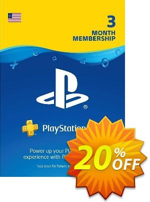 3 Month Playstation Plus Membership (PS+) - PS3/ PS4/ PS Vita Digital Code (USA) Coupon, discount 3 Month Playstation Plus Membership (PS+) - PS3/ PS4/ PS Vita Digital Code (USA) Deal. Promotion: 3 Month Playstation Plus Membership (PS+) - PS3/ PS4/ PS Vita Digital Code (USA) Exclusive offer for iVoicesoft