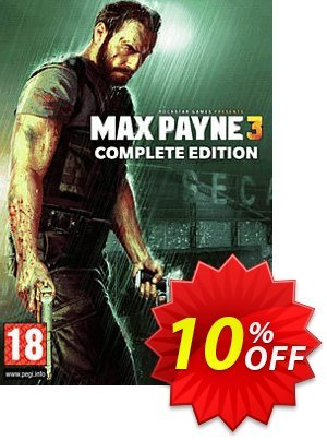 Max Payne 3 Complete Edition PC Coupon, discount Max Payne 3 Complete Edition PC Deal. Promotion: Max Payne 3 Complete Edition PC Exclusive offer for iVoicesoft