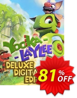 Yooka-Laylee Digital Deluxe Edition PC discount coupon Yooka-Laylee Digital Deluxe Edition PC Deal - Yooka-Laylee Digital Deluxe Edition PC Exclusive offer for iVoicesoft