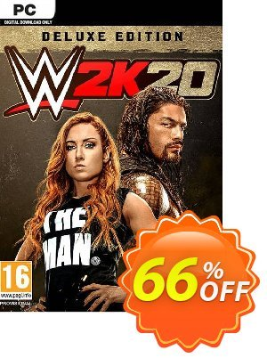 WWE 2K20 PC Deluxe Edition (EU) Coupon discount WWE 2K20 PC Deluxe Edition (EU) Deal. Promotion: WWE 2K20 PC Deluxe Edition (EU) Exclusive offer for iVoicesoft
