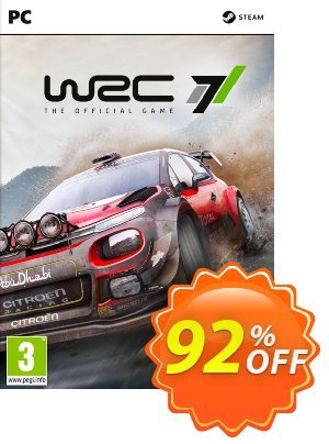 WRC 7 World Rally Championship PC 優惠券,折扣碼 WRC 7 World Rally Championship PC Deal,促銷代碼: WRC 7 World Rally Championship PC Exclusive offer for iVoicesoft