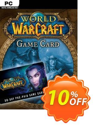 World of Warcraft 30 Day Pre-Paid Game Card PC/Mac discount coupon World of Warcraft 30 Day Pre-Paid Game Card PC/Mac Deal - World of Warcraft 30 Day Pre-Paid Game Card PC/Mac Exclusive offer for iVoicesoft