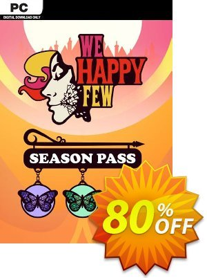 We Happy Few Season Pass PC discount coupon We Happy Few Season Pass PC Deal - We Happy Few Season Pass PC Exclusive offer for iVoicesoft