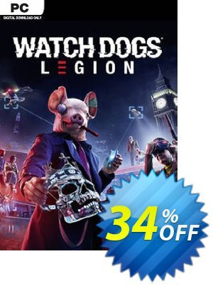Watch Dogs: Legion PC discount coupon Watch Dogs: Legion PC Deal - Watch Dogs: Legion PC Exclusive offer for iVoicesoft