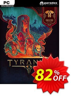 Tyranny Deluxe Edition PC discount coupon Tyranny Deluxe Edition PC Deal - Tyranny Deluxe Edition PC Exclusive offer for iVoicesoft