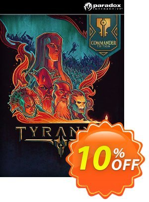 Tyranny Commander Edition PC discount coupon Tyranny Commander Edition PC Deal - Tyranny Commander Edition PC Exclusive offer for iVoicesoft