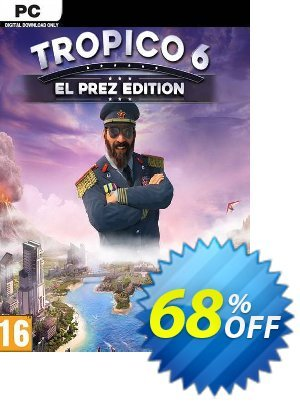 Tropico 6 El Prez Edition (EU) discount coupon Tropico 6 El Prez Edition (EU) Deal - Tropico 6 El Prez Edition (EU) Exclusive offer for iVoicesoft