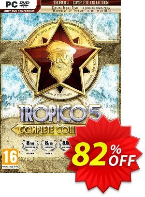 Tropico 5 - Complete Collection PC 프로모션 코드 Tropico 5 - Complete Collection PC Deal 프로모션: Tropico 5 - Complete Collection PC Exclusive offer for iVoicesoft