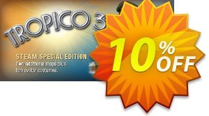 Tropico 3 PC 優惠券,折扣碼 Tropico 3 PC Deal,促銷代碼: Tropico 3 PC Exclusive offer for iVoicesoft