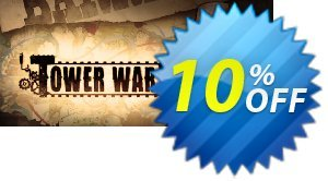 Tower Wars PC 프로모션 코드 Tower Wars PC Deal 프로모션: Tower Wars PC Exclusive offer for iVoicesoft
