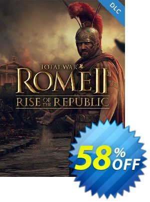 Total War ROME II 2 PC - Rise of the Republic DLC (EU) Coupon discount Total War ROME II 2 PC - Rise of the Republic DLC (EU) Deal. Promotion: Total War ROME II 2 PC - Rise of the Republic DLC (EU) Exclusive offer for iVoicesoft