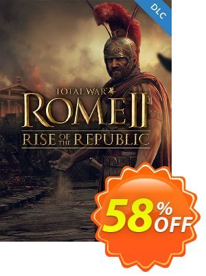 Total War ROME II 2 PC - Rise of the Republic DLC (EU) discount coupon Total War ROME II 2 PC - Rise of the Republic DLC (EU) Deal - Total War ROME II 2 PC - Rise of the Republic DLC (EU) Exclusive offer for iVoicesoft