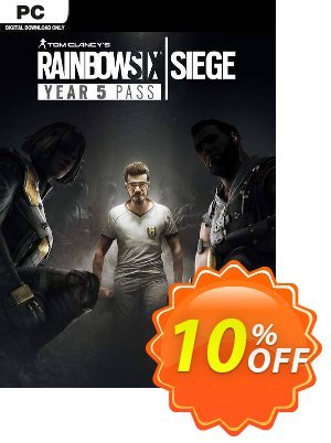 Tom Clancy's Rainbow Six Siege - Year 5 Pass PC discount coupon Tom Clancy's Rainbow Six Siege - Year 5 Pass PC Deal - Tom Clancy's Rainbow Six Siege - Year 5 Pass PC Exclusive offer for iVoicesoft