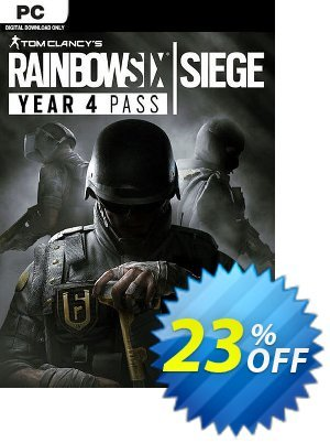 Tom Clancys Rainbow Six Siege - Year 4 Pass PC discount coupon Tom Clancys Rainbow Six Siege - Year 4 Pass PC Deal - Tom Clancys Rainbow Six Siege - Year 4 Pass PC Exclusive offer for iVoicesoft