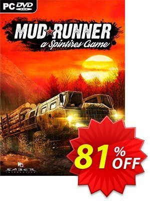 Spintires MudRunner PC discount coupon Spintires MudRunner PC Deal - Spintires MudRunner PC Exclusive offer for iVoicesoft