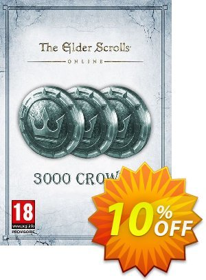 The Elder Scrolls Online Tamriel Unlimited 3000 Crown Pack PC discount coupon The Elder Scrolls Online Tamriel Unlimited 3000 Crown Pack PC Deal - The Elder Scrolls Online Tamriel Unlimited 3000 Crown Pack PC Exclusive offer for iVoicesoft