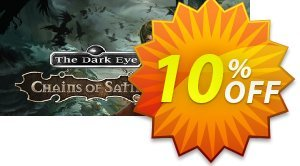 The Dark Eye Chains of Satinav PC 프로모션 코드 The Dark Eye Chains of Satinav PC Deal 프로모션: The Dark Eye Chains of Satinav PC Exclusive offer for iVoicesoft