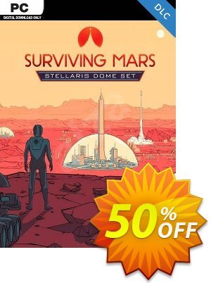Surviving Mars Stellaris Dome Set PC DLC discount coupon Surviving Mars Stellaris Dome Set PC DLC Deal - Surviving Mars Stellaris Dome Set PC DLC Exclusive offer for iVoicesoft