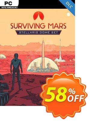 Surviving Mars Stellaris Dome Set PC DLC 프로모션 코드 Surviving Mars Stellaris Dome Set PC DLC Deal 프로모션: Surviving Mars Stellaris Dome Set PC DLC Exclusive offer for iVoicesoft