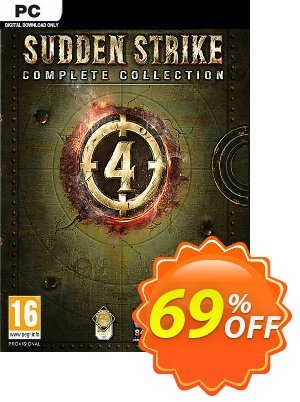 Sudden Strike 4 - Complete Collection PC discount coupon Sudden Strike 4 - Complete Collection PC Deal - Sudden Strike 4 - Complete Collection PC Exclusive offer for iVoicesoft