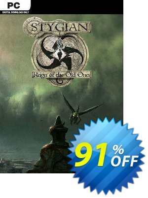 Stygian: Reign of the Old Ones PC 優惠券,折扣碼 Stygian: Reign of the Old Ones PC Deal,促銷代碼: Stygian: Reign of the Old Ones PC Exclusive offer for iVoicesoft