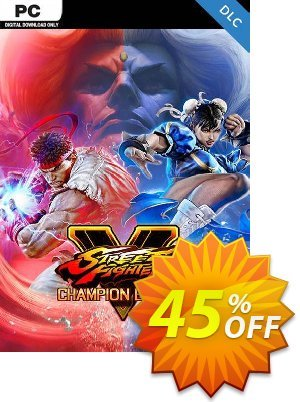 Street Fighter V 5 PC - Champion Edition Upgrade Kit DLC discount coupon Street Fighter V 5 PC - Champion Edition Upgrade Kit DLC Deal - Street Fighter V 5 PC - Champion Edition Upgrade Kit DLC Exclusive offer for iVoicesoft