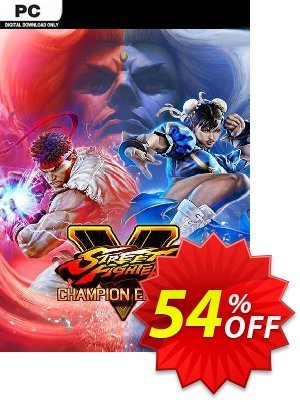 Street Fighter V 5 - Champion Edition PC discount coupon Street Fighter V 5 - Champion Edition PC Deal - Street Fighter V 5 - Champion Edition PC Exclusive offer for iVoicesoft