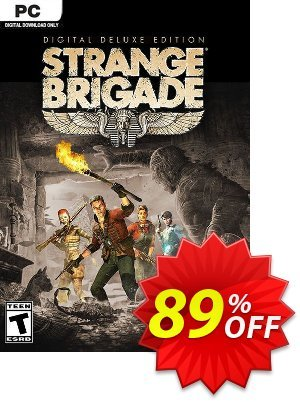 Strange Brigade Deluxe Edition PC 프로모션 코드 Strange Brigade Deluxe Edition PC Deal 프로모션: Strange Brigade Deluxe Edition PC Exclusive offer for iVoicesoft