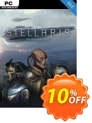 Stellaris PC - Humanoids Species Pack DLC Coupon discount Stellaris PC - Humanoids Species Pack DLC Deal. Promotion: Stellaris PC - Humanoids Species Pack DLC Exclusive offer for iVoicesoft