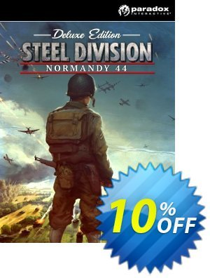 Steel Division Normandy 44 Deluxe Edition PC discount coupon Steel Division Normandy 44 Deluxe Edition PC Deal - Steel Division Normandy 44 Deluxe Edition PC Exclusive offer for iVoicesoft