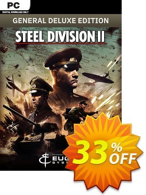 Steel Division 2 - General Deluxe Edition PC discount coupon Steel Division 2 - General Deluxe Edition PC Deal - Steel Division 2 - General Deluxe Edition PC Exclusive offer for iVoicesoft