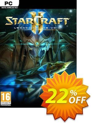 Starcraft II 2: Legacy of the Void (PC/Mac) discount coupon Starcraft II 2: Legacy of the Void (PC/Mac) Deal - Starcraft II 2: Legacy of the Void (PC/Mac) Exclusive offer for iVoicesoft