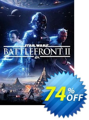 Star Wars Battlefront II 2 PC WW discount coupon Star Wars Battlefront II 2 PC WW Deal - Star Wars Battlefront II 2 PC WW Exclusive offer for iVoicesoft
