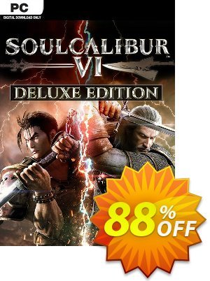 Soulcalibur VI 6 Deluxe Edition PC discount coupon Soulcalibur VI 6 Deluxe Edition PC Deal - Soulcalibur VI 6 Deluxe Edition PC Exclusive offer for iVoicesoft