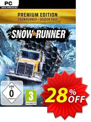 SnowRunner: Premium Edition PC discount coupon SnowRunner: Premium Edition PC Deal - SnowRunner: Premium Edition PC Exclusive offer for iVoicesoft