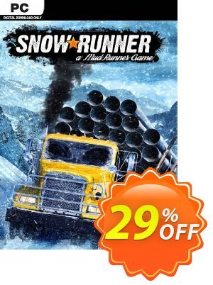 SnowRunner PC discount coupon SnowRunner PC Deal - SnowRunner PC Exclusive offer for iVoicesoft