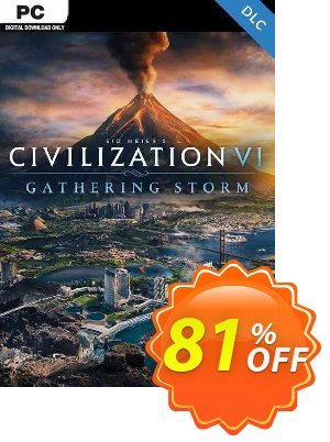 Sid Meiers Civilization VI 6 PC Gathering Storm DLC (EU) discount coupon Sid Meiers Civilization VI 6 PC Gathering Storm DLC (EU) Deal - Sid Meiers Civilization VI 6 PC Gathering Storm DLC (EU) Exclusive offer for iVoicesoft