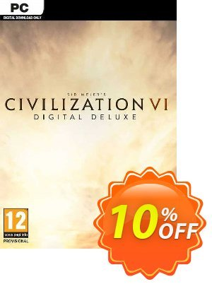 Sid Meier's Civilization VI 6 Digital Deluxe PC 프로모션 코드 Sid Meier's Civilization VI 6 Digital Deluxe PC Deal 프로모션: Sid Meier's Civilization VI 6 Digital Deluxe PC Exclusive offer for iVoicesoft