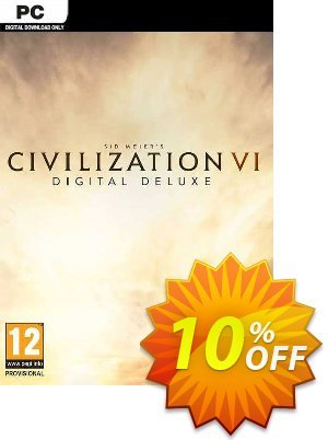 Sid Meier's Civilization VI 6 Digital Deluxe PC discount coupon Sid Meier's Civilization VI 6 Digital Deluxe PC Deal - Sid Meier's Civilization VI 6 Digital Deluxe PC Exclusive offer for iVoicesoft