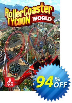 RollerCoaster Tycoon World PC discount coupon RollerCoaster Tycoon World PC Deal - RollerCoaster Tycoon World PC Exclusive offer for iVoicesoft