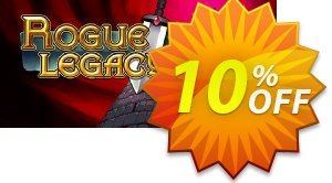 Rogue Legacy PC discount coupon Rogue Legacy PC Deal - Rogue Legacy PC Exclusive offer for iVoicesoft