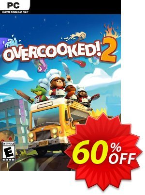 Overcooked 2 PC 프로모션 코드 Overcooked 2 PC Deal 프로모션: Overcooked 2 PC Exclusive offer for iVoicesoft