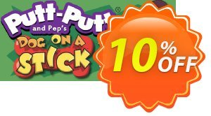 PuttPutt and Pep's Dog on a Stick PC 프로모션 코드 PuttPutt and Pep's Dog on a Stick PC Deal 프로모션: PuttPutt and Pep's Dog on a Stick PC Exclusive offer for iVoicesoft